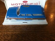 Vintage IDEAL Motorific Ford Wagon Slot Car Body with Display Case