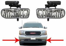 Replacement Fog Lights For 1999-2002 GMC Sierra / 2001-2006 GMC Yukon New USA