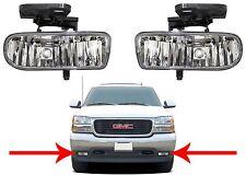 Replacement Fog Lights For 1999-2002 GMC Sierra / 2001-2006 GMC Yukon New USA