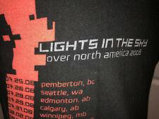 Nine Inch Nails Nin Vintage Lights In The Sky Concert Tour Shirt Trent Reznor