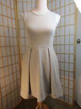 KATE SPADE SATURDAY Gray Casual 100% Cotton Sleeveless Side Pockets Dress Size 2
