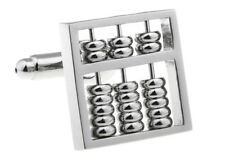 Abacus Cufflinks Math Teacher Really Works Gift Box Free Ship USA