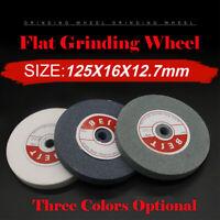 Heavy Duty Grinding Wheel Bench Grinder White/Grey/Green 5 inch Grit 46-100 UK