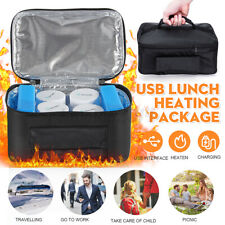 USB ortable Electric Heated Heating Lunch Box Stove Car Hot Food Warmer