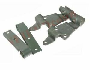 Complete Side & Front Soft Top Bow & Pivot Bracket & Fitting For Willys Ford ECs