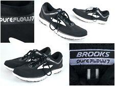 Brooks Pureflow 7 Men's Sz 11.5 (B)  Black / White Athletic Running Shoes
