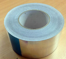 Reinforced Foil Aluminium Insulation Tape 75mm x 50m 140micron Thick Heavy Duty