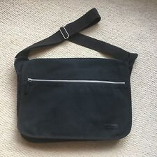 0637a797e808f Ted Baker Black Canvas Messenger Bag