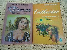JULIETTE BENZONI - CATHERINE IL SUFFIT D'UN AMOUR -TOME 1 & 2 - LIVRE DE POCHE