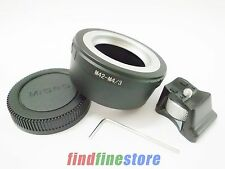 M42 Lens to Micro 4/3 M4/3 tripod mount Adapter EP3 EPL1 EPL3 G1 GF1 GH1 + CAP