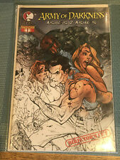 Army of Darkness Ashes 2 Ashes #1 director's cut NM j scott campbell cover comic