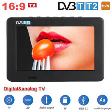 "7"" LED HD TV Portátil Digital Televisor DVB-T / T2 Reproductor USB / TF / PVR"