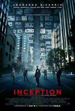 Inception Plakat - Zweiseitig Regulär US Eins Blatt Original Filmposter