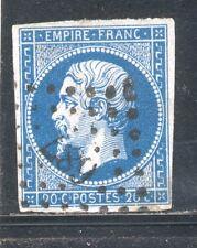 France N° 14A ob PC 687 SETE, HERAULT, FOND LIGNE, TB
