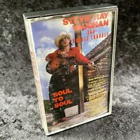 Stevie Ray Vaughan And Double Trouble Soul To Soul Cassette Tape Epic 1985