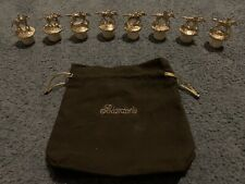 BLANTONS GOLD Limited Edition GOLD Stoppers Complete Set WITH BAG **RARE**