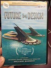 Future By Design ex-rental region 4 DVD (2006 documentary movie) rare