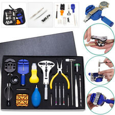 Watch Repair Tool Kit Case Opener Link Remover Spring Bar Tool - Carry Case LOT