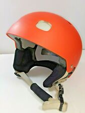 POC Receptor Bug Multi Sport Ski Snow Helmet Adjustable XL 59/60cm Orange EUC