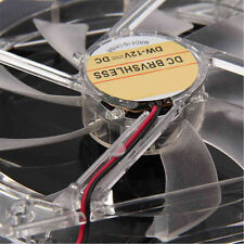 120mm Fans 4 LED 4 pin Hydraulic Bearing LED Blue Computer Case Cooling Fan
