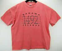 Vintage Bahama Islands Men's Size XL T Shirt Single Stitch