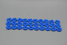LEGO 30 X PIASTRA 2x2 tondo blu | Blue Circle Plate 4032 403223