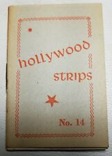Hollywood Strips Booklet No. 14 Netherlands Maple Leaf Bubble Gum Premium