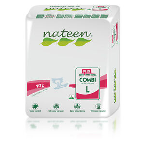 Large Tendercare-Nateen Day Plus Adult Incontinence Nappies