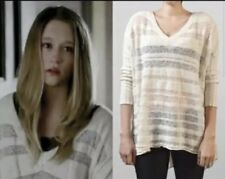 FREE PEOPLE Spending Time Ivory Sweater XS ASO VIOLET HARMON and Hilary Duff