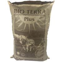 BIOCANNA BIO TERRA PLUS 50-L Erde Pflanzen-Dünger Substrat NPK Grow