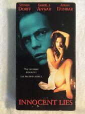 Innocent Lies (Prev. Viewed VHS, 1995) Stephen Dorff, Gabrielle Anwar RARE HTF