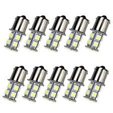 10Pack White 1156 13-SMD RV Camper Trailer LED Interior Light Bulb 12V Sales