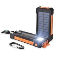 600000 mAh Waterproof Dual USB Portable Solar Charger Solar Power Bank For Phone
