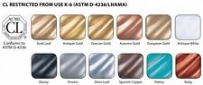 Wax Metallic Finishes Rub and Buff Provide Unique Tones 0.5 oz Set 12 Colors