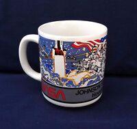 1 NASA Coffee Mug Cup Johnson Space Center Houston Texas Collectible Space