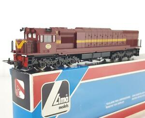 LIMA 208134 HO - SOUTH AFRICAN SAR SAS BROWN LIVERY, CLASS 34 DIESEL LOCOMOTIVE