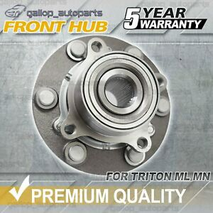 For Mitsubishi Triton ML MN 2006-2015 Challenger PB PC Front Wheel Bearing & Hub
