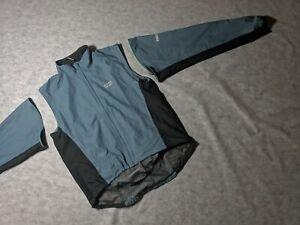 2 in 1 RARE King XXXL BAG GORE BIKE WEAR Cycling Nylon Vest Jacket Windstopper