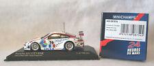 """Minichamps 1/43rd Scale Porsche 911 GT3 RSR, #76, """"Matmut"""", 24H of Le Mans 2008"""