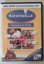 Disney Pixar Ratatouille Cooking Fun For All Ages DVD, Emeril, Rachel Ray, Irvin