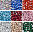 1000 Flat Back Resin Rhinestones Gem Diamante Crystal 2 3 4 5 6mm 33 color