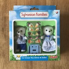 Sylvanian Families Retired Flair 4771 Ice Cream Driver and Seller RARE HTF BNIB