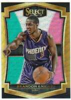 2015-16 Panini Select Premier Level Tri-Color Prizm #191 Brandon Knight Suns