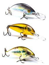 Lot of 3 Ugly Duckling Ultra Light Fishing Lures for finesse fishing, New in Box