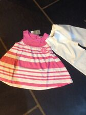 BNWT 2 Piece Outfit NEXT 12-18 Months Pink White