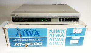 BOXED AIWA AT-9500 STEREO TUNER HI-FI SEPARATE - MADE IN JAPAN
