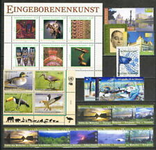 UNO Wien: Jahrgang 2003 ** postfrisch miNr. 381 - 405 inkl. Block 17 [1801]