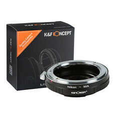K&F Concept Adapter Ring for Nikon AI F Lens to Minolta AF MA Sony Alpha + Glass