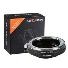 Mount Adapter For Nikon AI F Lens to Minolta MA Sony Alpha W/ Glass
