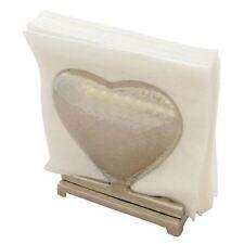 Metal Heart Napkin Holder Party Tableware Serviette Vintage Gift Wedding Decor